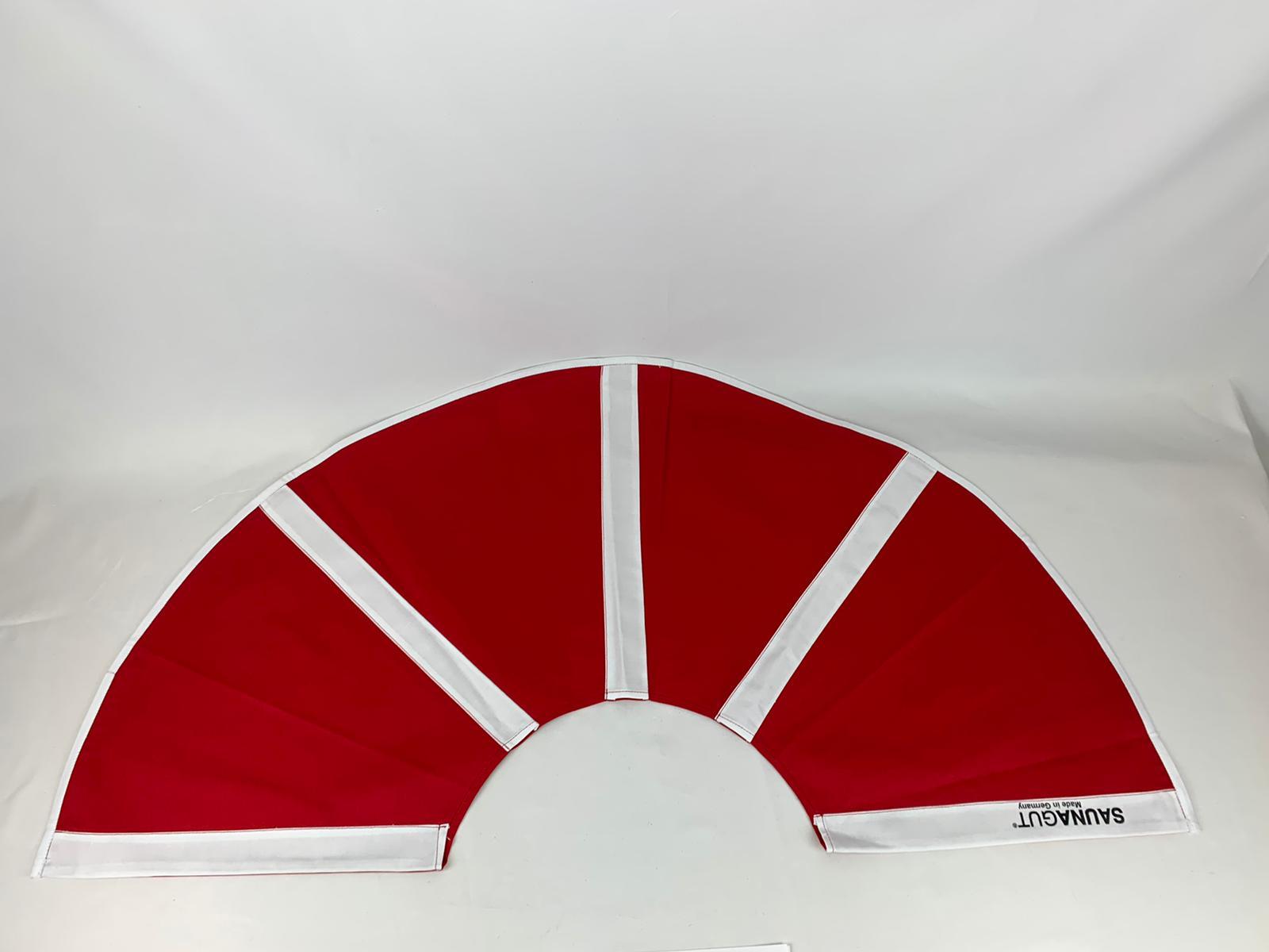 003-ES-AFS-RW   Ersatzstoff Aufgussfächer STANDARD Rot-Weiß