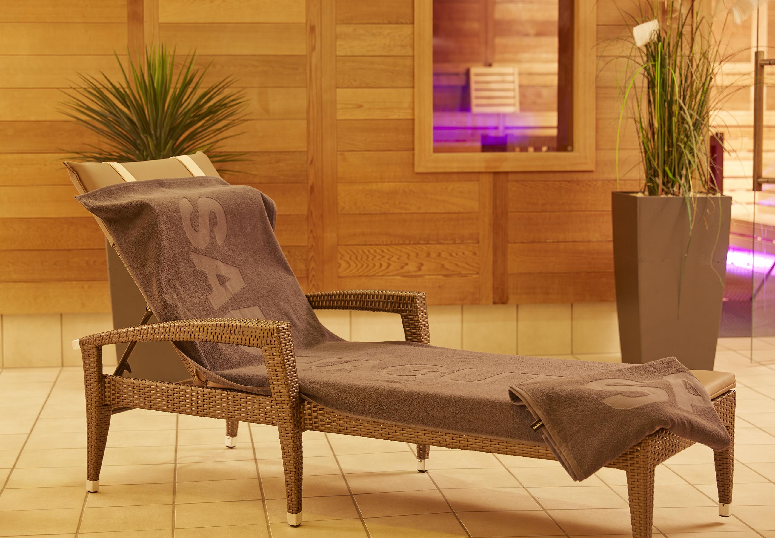 Saunatuch-SAUNAGUT®, 70 x 180 cm, Zwirnfrottier zu ca. 450 g/m2, 100 % Baumwolle