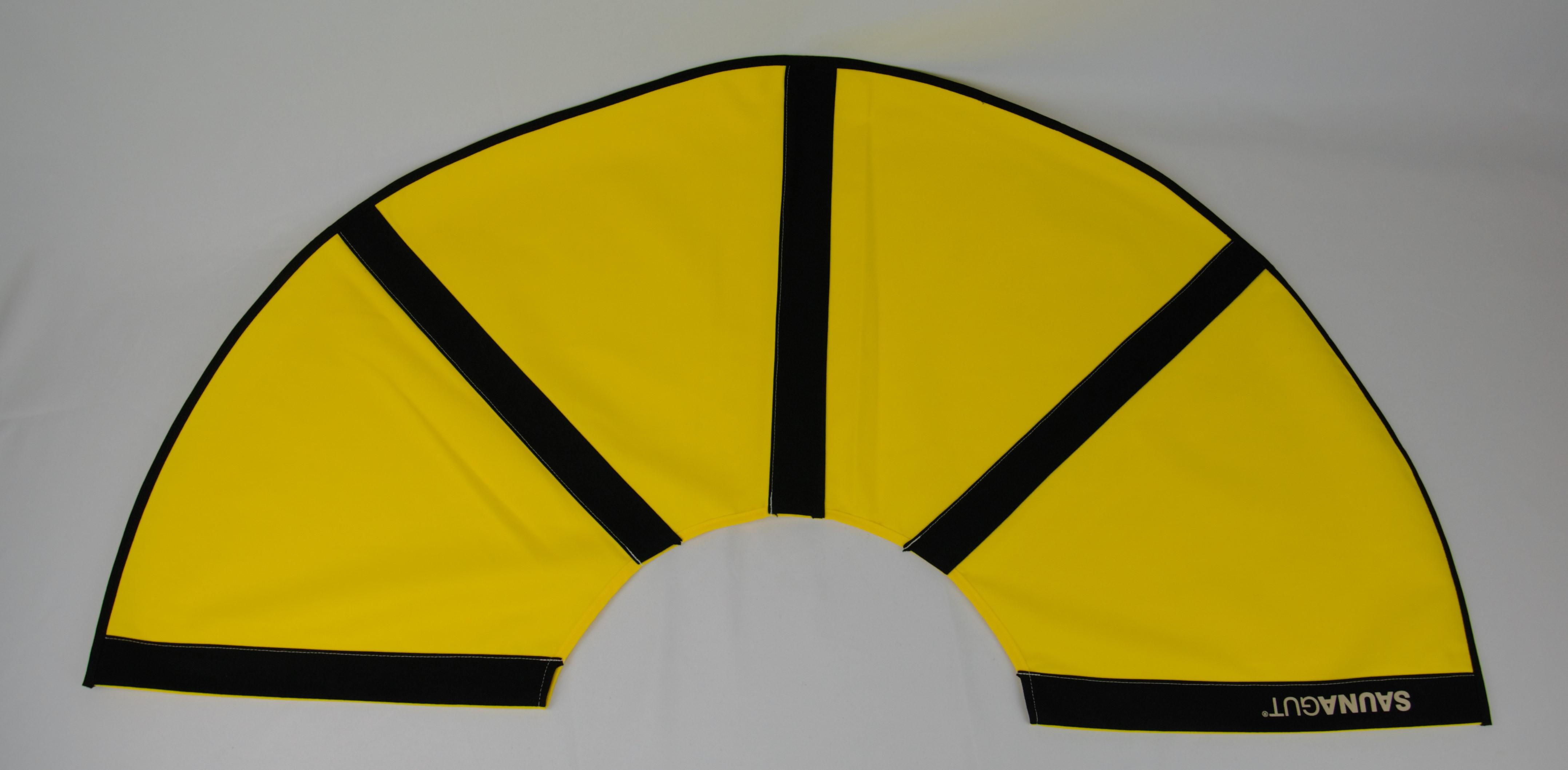 003-ES-AFS-GB | Ersatzstoff Aufgussfächer STANDARD Gelb-Schwarz