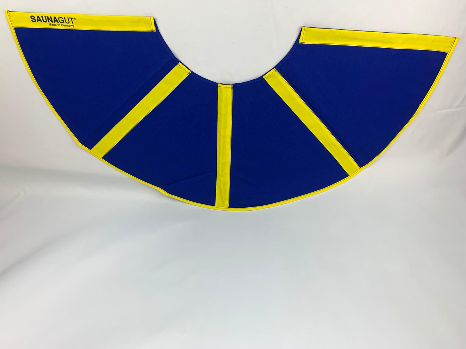 003-ES-AFS-BG | Ersatzstoff Aufgussfächer STANDARD Blau-Gelb