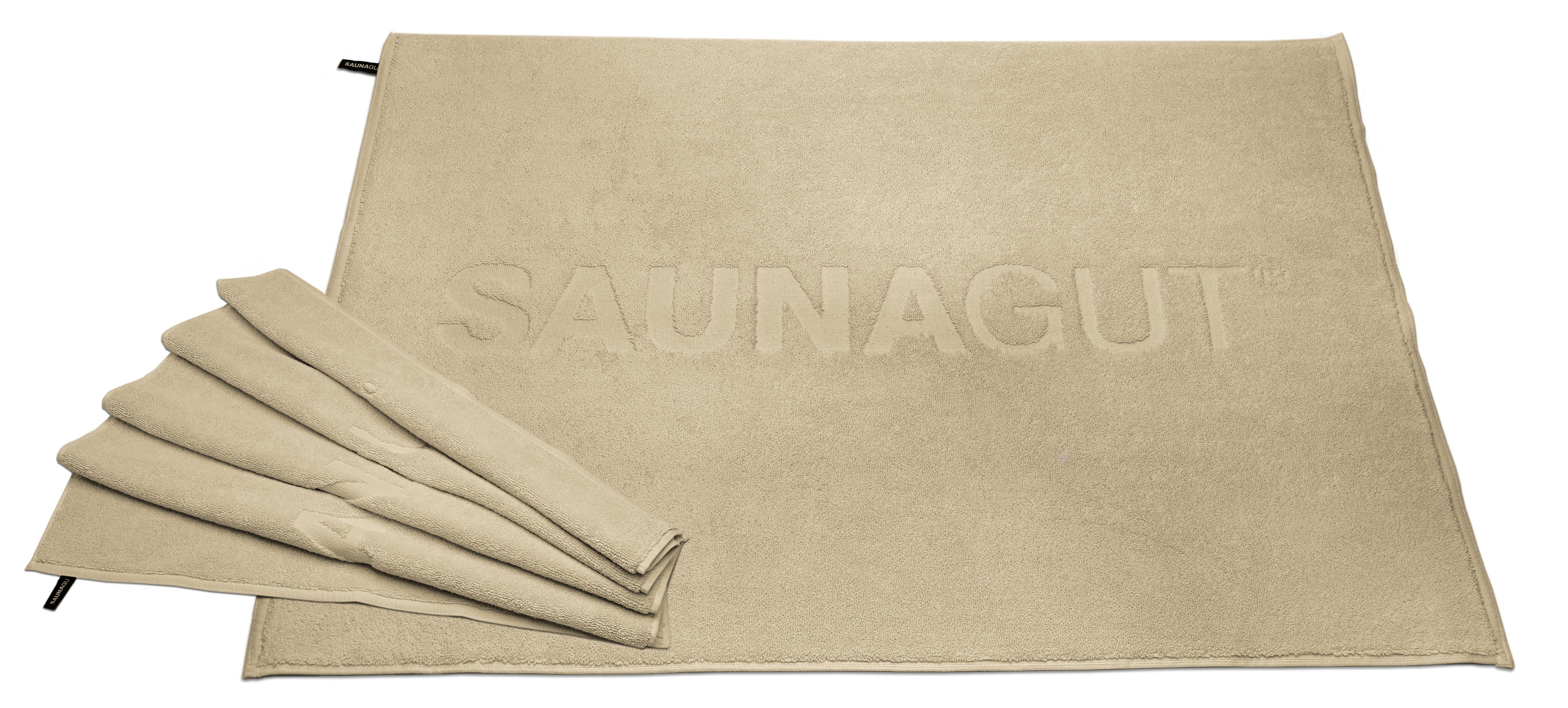 Wedeltuch SAUNAGUT® WM-Master 70/100 CM Farbe: Elfenbein 1000 g m²