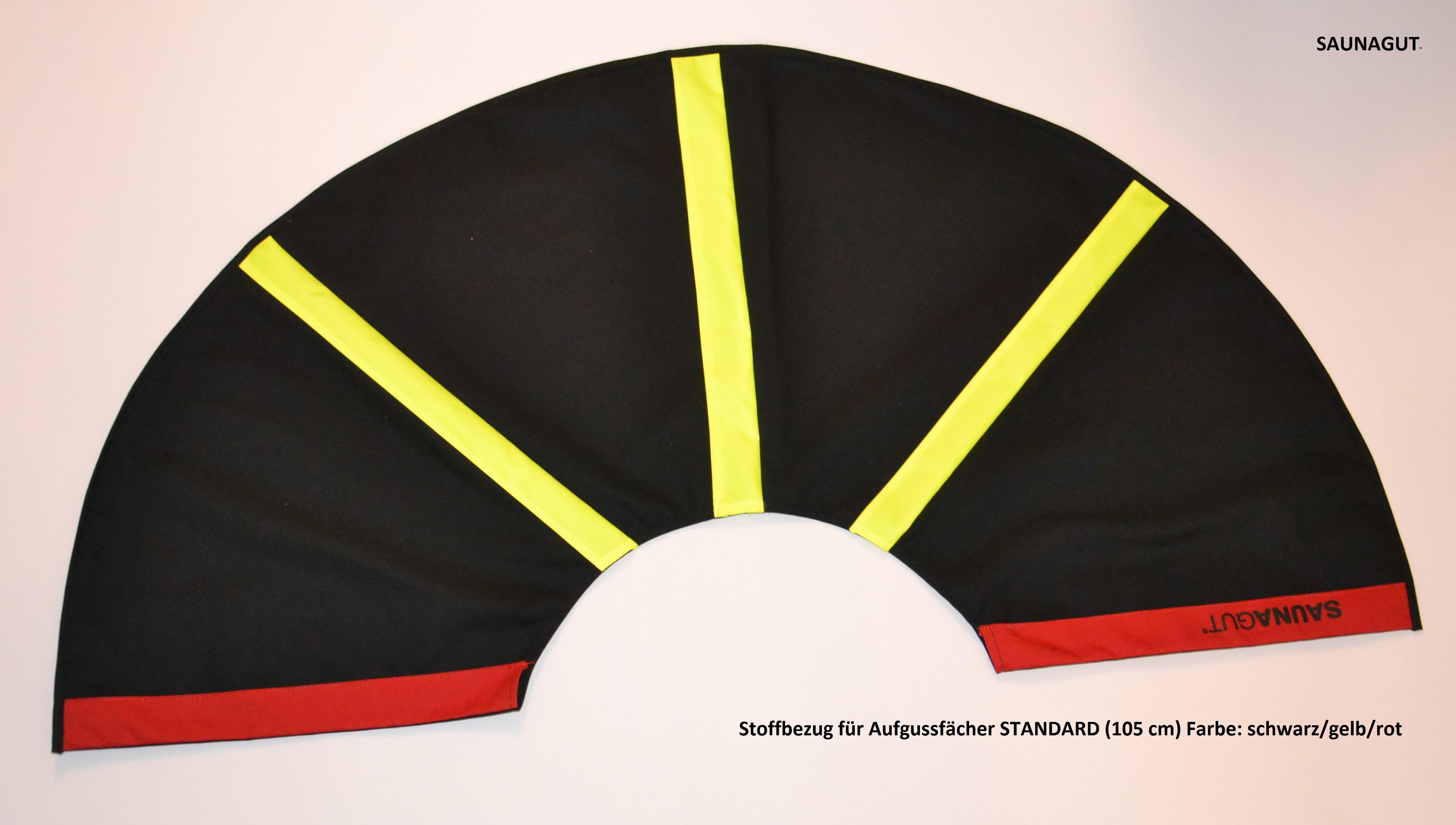 003-ES-AFS-SGR Ersatzstoff-Farbe: schwarz-gelb-rot Maße: 105/55cm