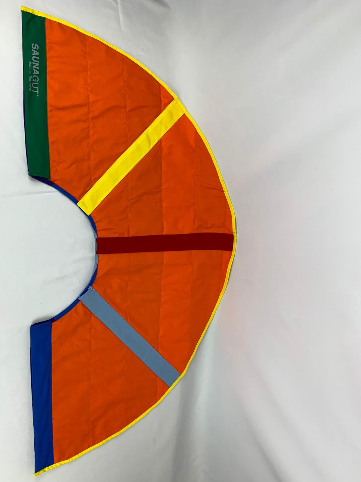 003-ES-AFS-OGGRGB   Ersatzstoff Aufgussfächer STANDARD Orange-Grün-Gelb-Rot-Grau-Blau