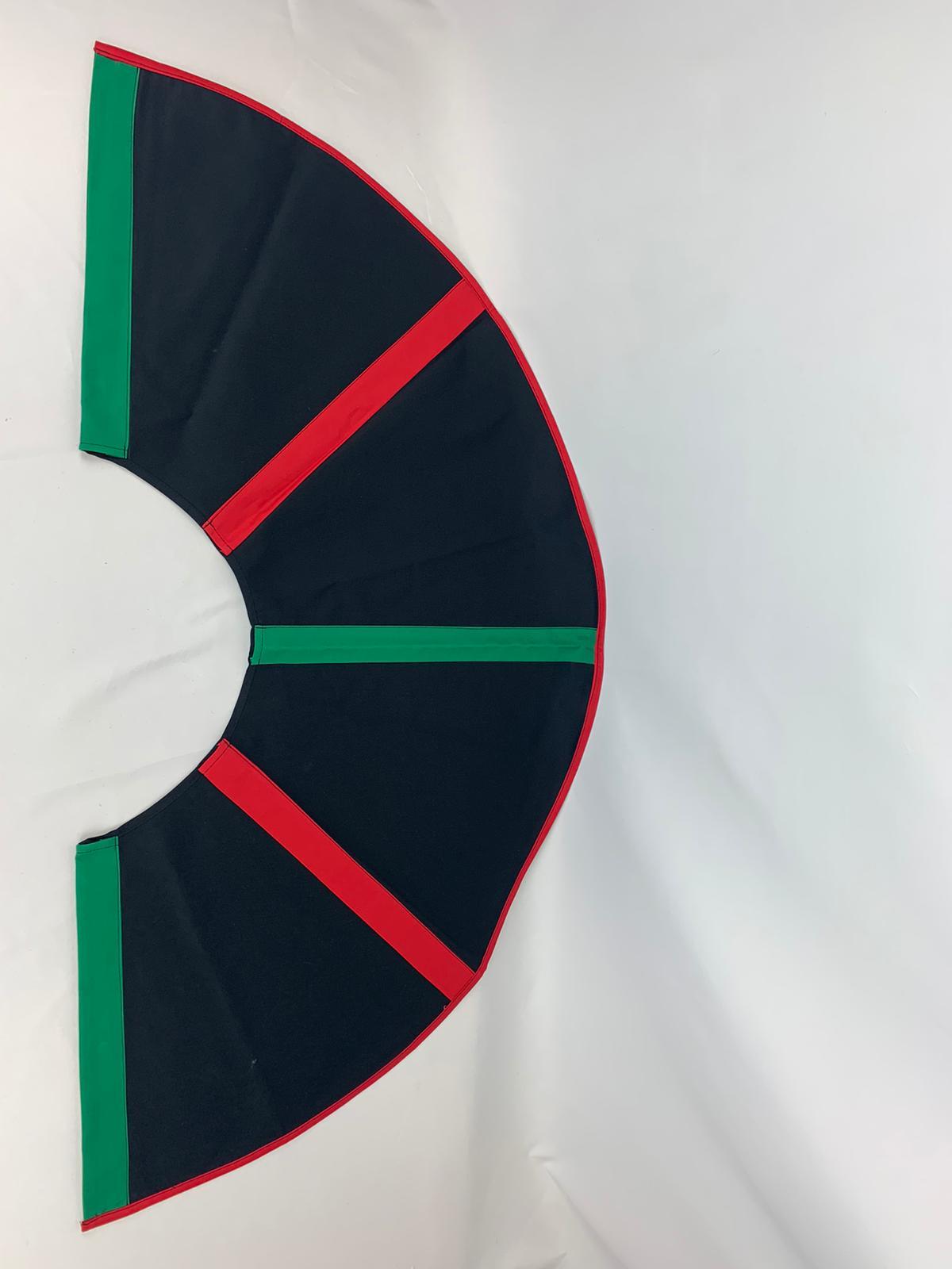 003-ES-AFS-OB   Ersatzstoff Aufgussfächer STANDARD Schwarz-Grün-Rot