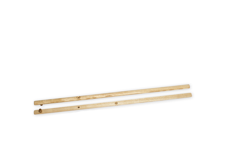 Ersatz-Griffpaar (2) für Aufgussfächer Mini (KLEIN)