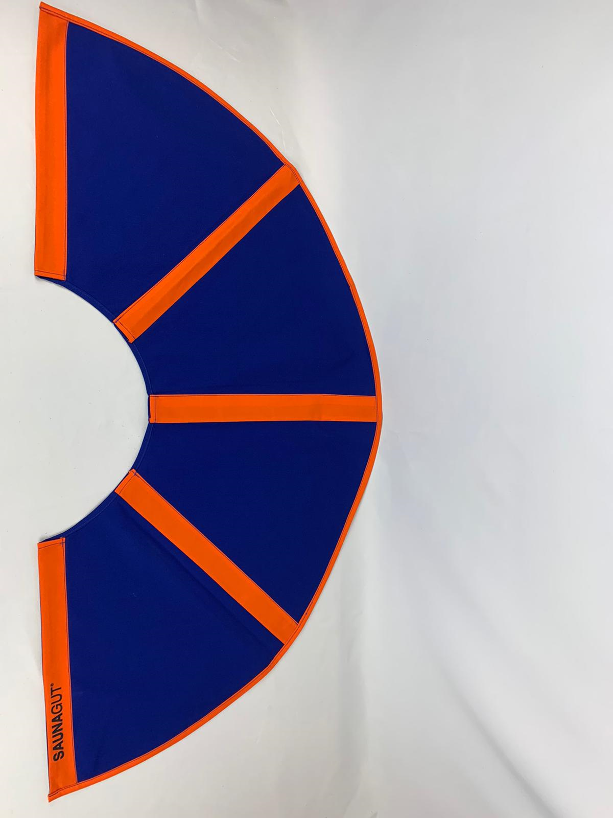 003-ES-AFS-DBL   Ersatzstoff Aufgussfächer Dunkelblau-Orange