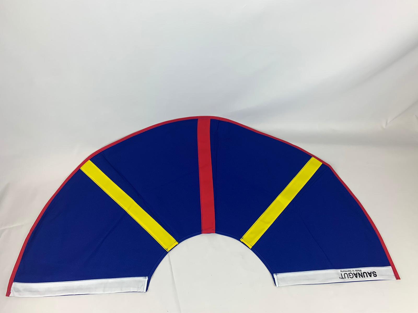003-ES-AFS-BWGR | Ersatzstoff Aufgussfächer STANDARD Blau-Weiß-Gelb-Rot