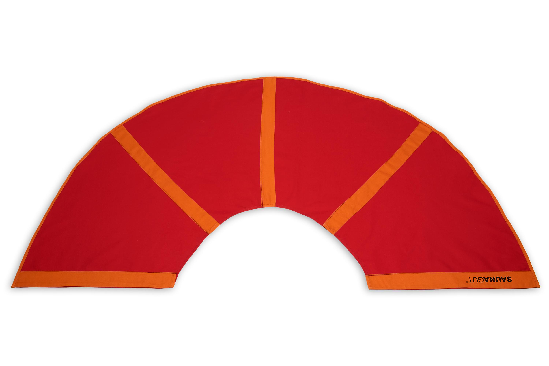 Ersatzstoffbezug für Aufgussfächer PLUS, Farbe: Rot/Orange