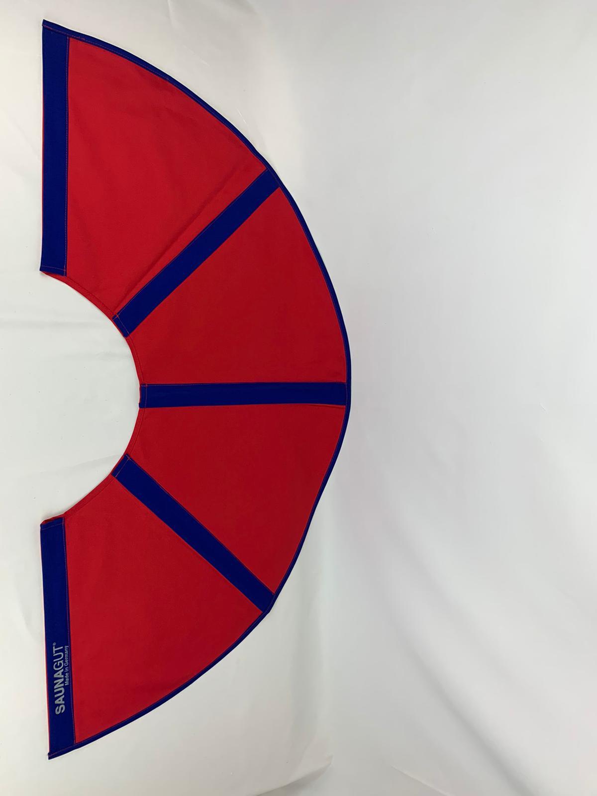 003-ES-AFS-RB   Ersatzstoff Aufgussfächer STANDARD Rot-Blau