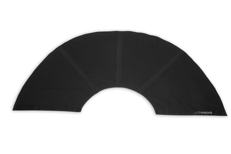 Ersatzstoffbezug für Aufgussfächer Mini (KLEI) Farbe: Schwarz