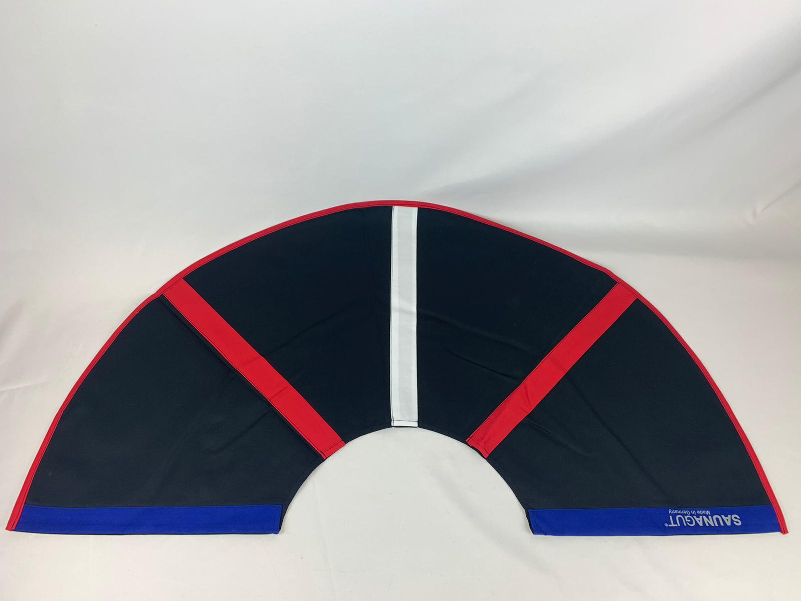 003-ES-AFS-SBRW | Ersatzstoff Aufgussfächer STANDARD Schwarz-Blau-Rot-Weiß