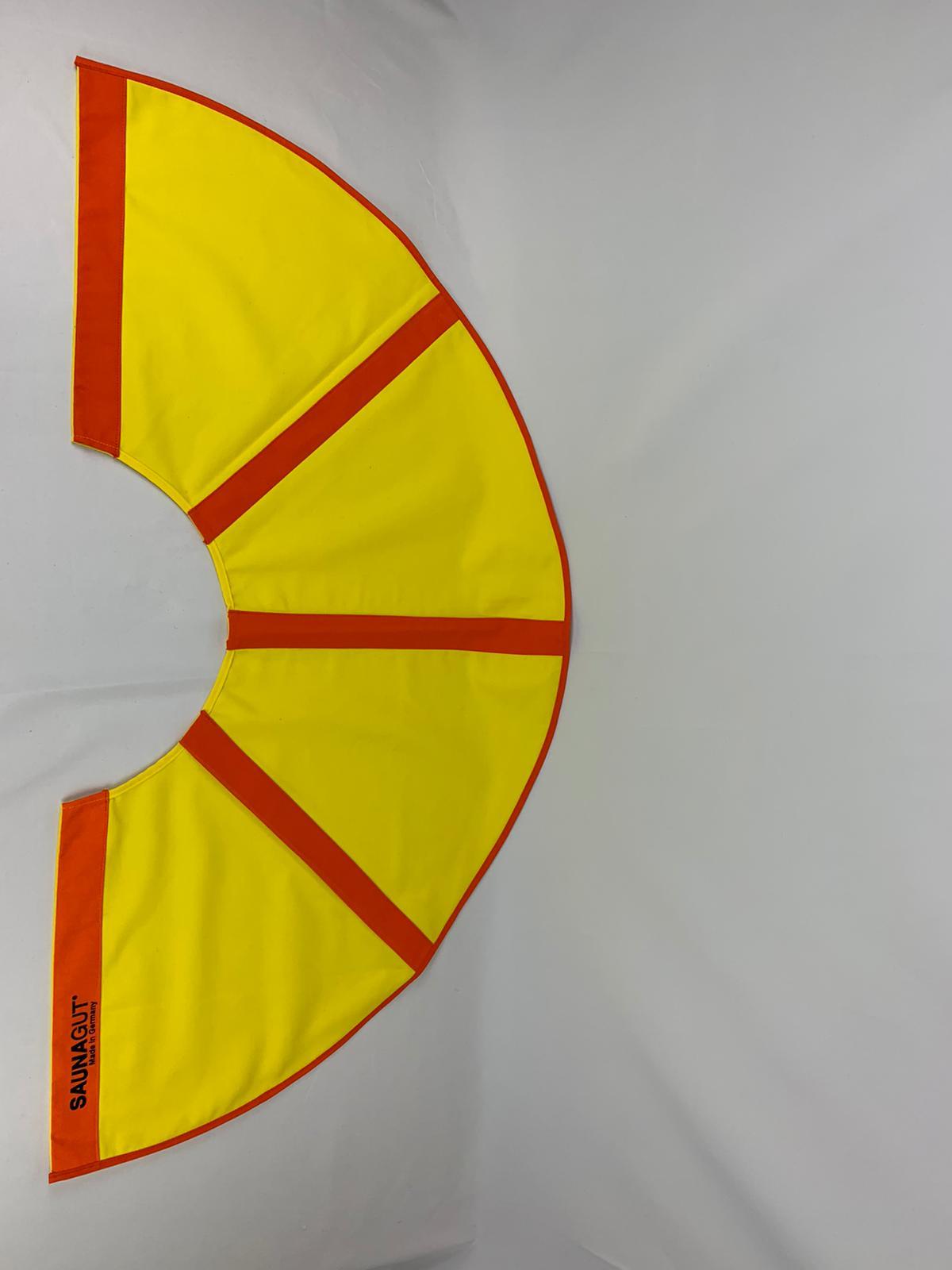 003-ES-AFS-GO   Ersatzstoff Aufgussfächer STANDARD Gelb-Orange
