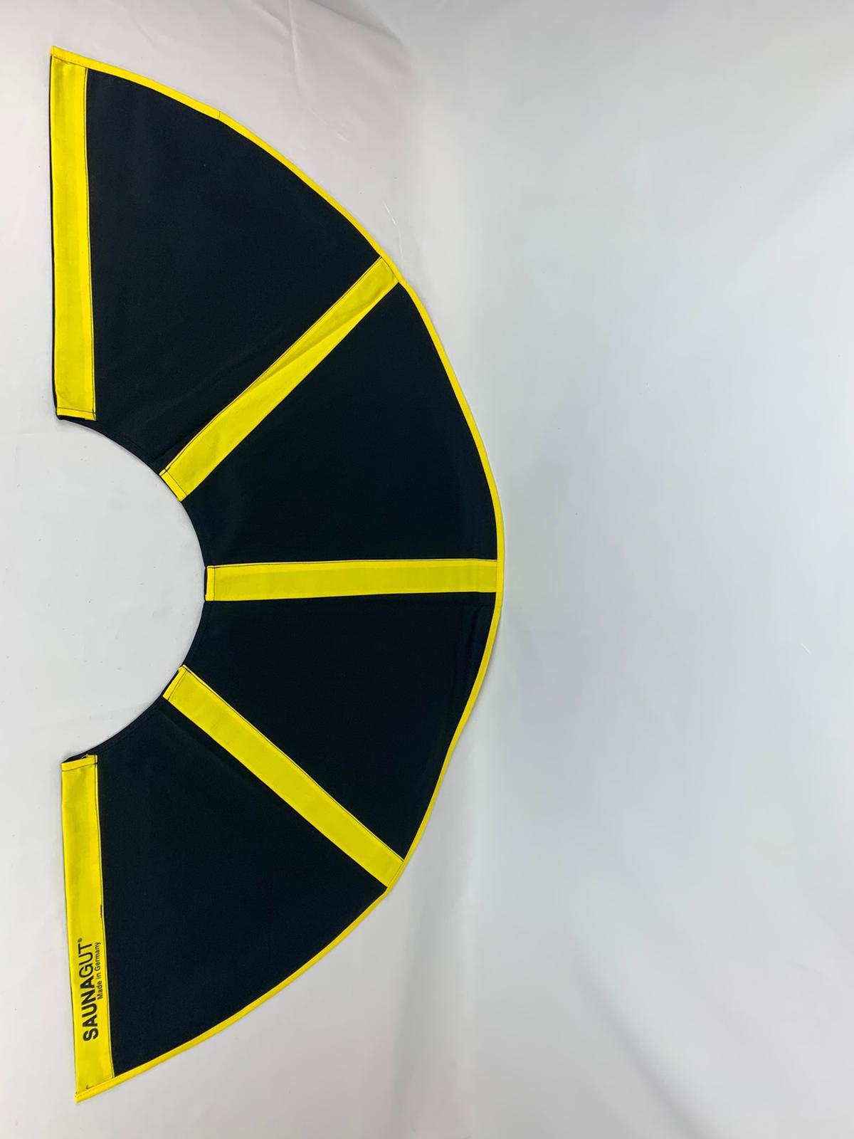 003-ES-AFS-SG | Ersatzstoff Aufgussfächer STANDARD Schwarz-Gelb