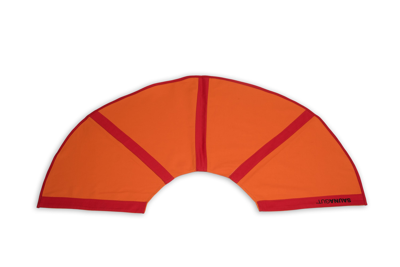 Ersatzsoffbezug für Aufgussfächer STANDARD, Farbe: Orange/Rot